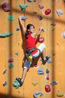 Climbing is a fun, inexpensive, and safe way to stay active.