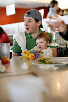 Should Kids Be Allowed In Nice Restaurants According To Jonathan Bender At Fat City If Pas Decide Bring Their Children A High End Dining