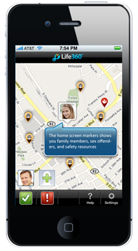 Check Out Life360's Brand New iPhone App! - Life360