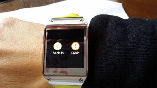 Using my smart watch to keep tabs on family  - Life360