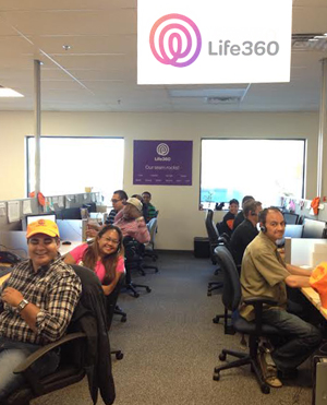 The Live Advisor call center team