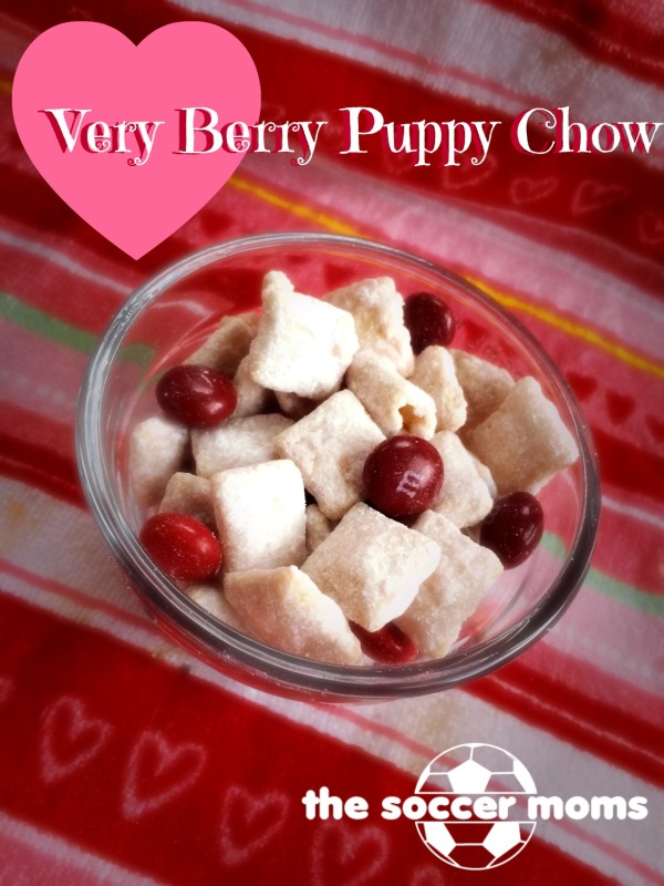 Valentine Treats Snack Mix. This Very Berry Puppy Chow ...